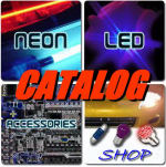LED & Neon Car Lights Shopping Catalog logo