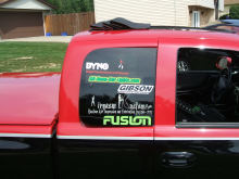Dodge dakota truck sponsors