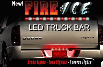 LED Truck Bar with Reverse Lights