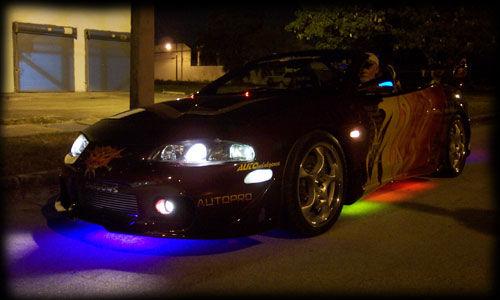 Neon Car Lights: Undercar Neons/LED's
