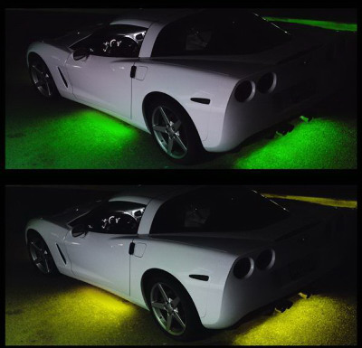 Flexible LED Under Car Kit