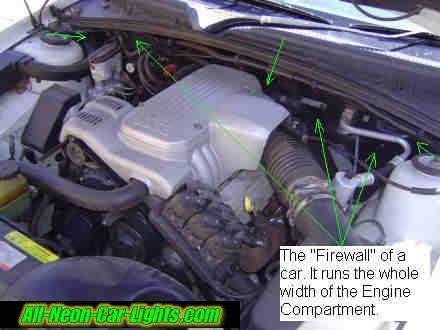 How To Install Interior Car Lights Via The Car Battery   Step 5